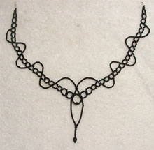 Fantasy Necklace in Black