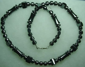 Hematite Necklace 003