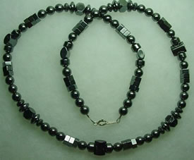 Hematite Necklace 004