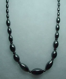 Hematite Necklace 005