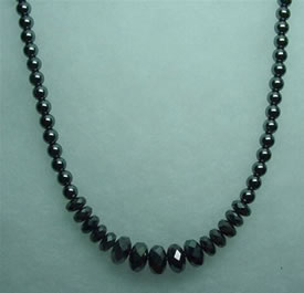 Hematite Necklace 006