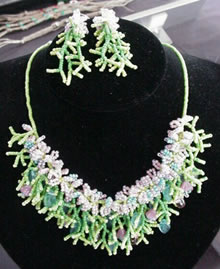 Spring Garden Necklace Set