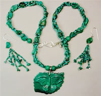turquoise butterfly set